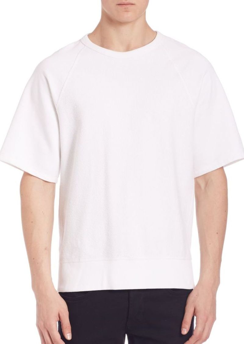 Rag & Bone Driscoll Short-Sleeve Sweatshirt