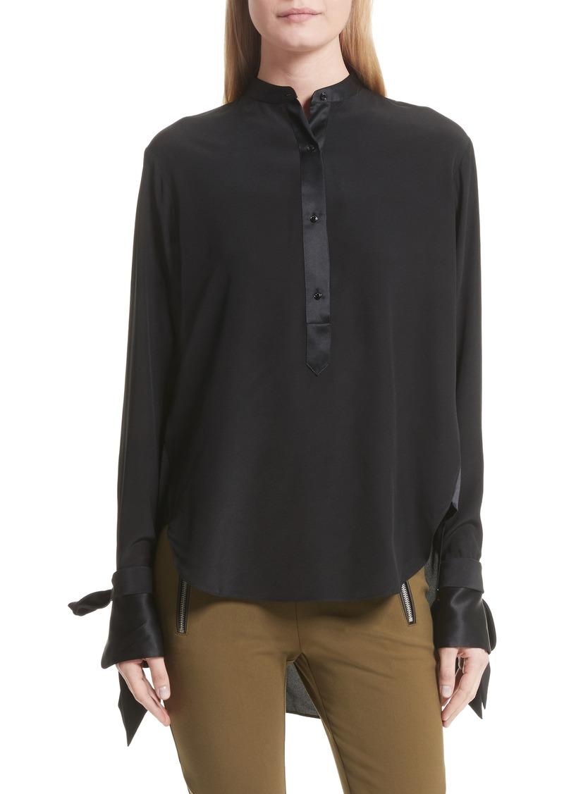 Rag Amp Bone Rag Amp Bone Dylan Silk Shirt Now 157 98
