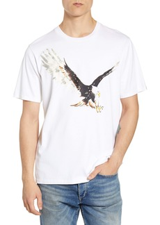 rag & bone Eagle Graphic Crewneck T-Shirt