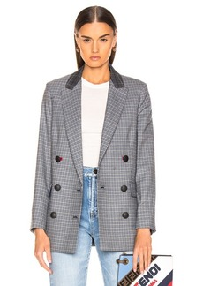 Rag & Bone Ellie Check Blazer