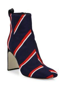 Rag & Bone Ellis Striped Wool Ankle Boots