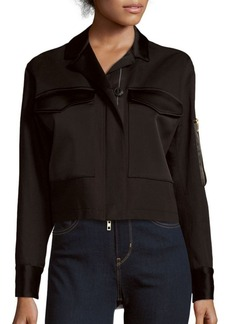 Rag & Bone Ellison Solid Long-Sleeve Jacket