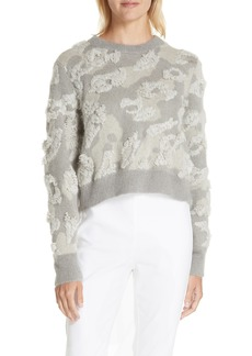 rag & bone Embroidered Leopard Spot Sweater