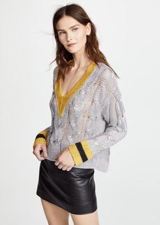 Rag & Bone Emma V Neck Sweater