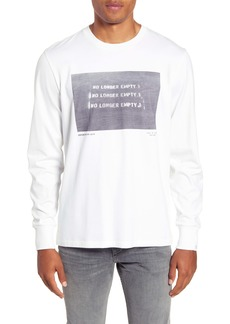 rag & bone Empty Graphic Long Sleeve T-Shirt