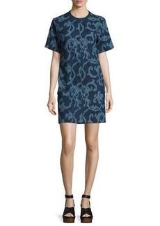 Rag & Bone Esmond Laser-Cut Cotton Dress