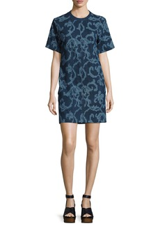 Rag & Bone Esmond Laser-Cut Cotton Dress