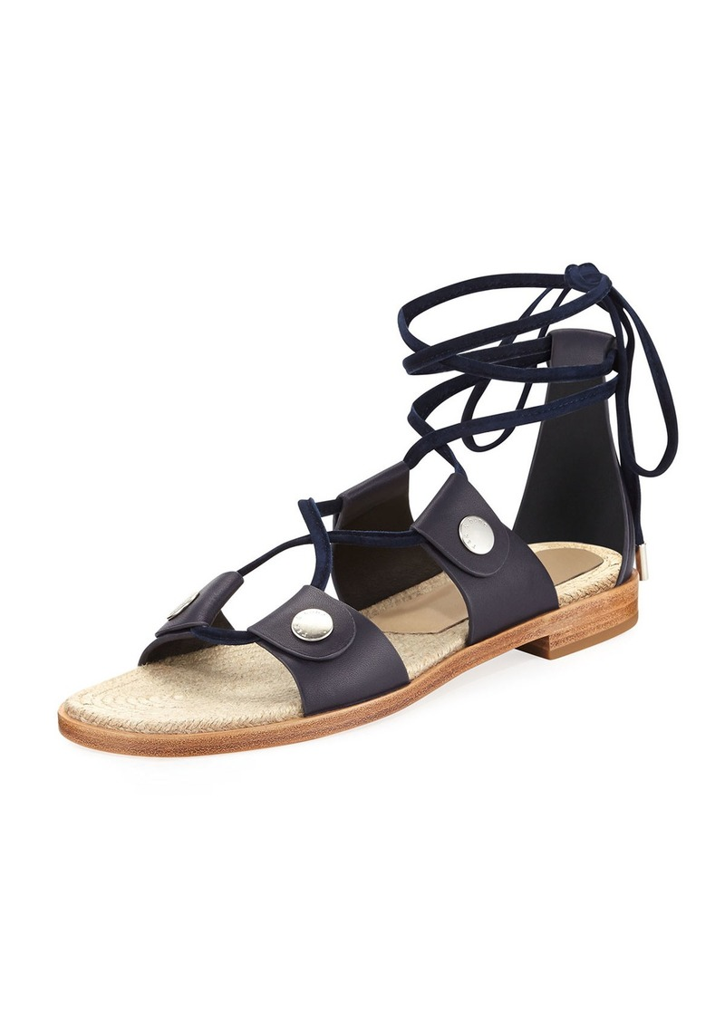 f53d921f6b35 SALE! Rag   Bone Rag   Bone Evelyn Lace-Up Flat Leather Sandal