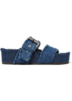 rag & bone Evin denim platform sandals