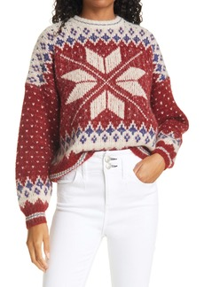 rag & bone Fair Isle Crewneck Sweater
