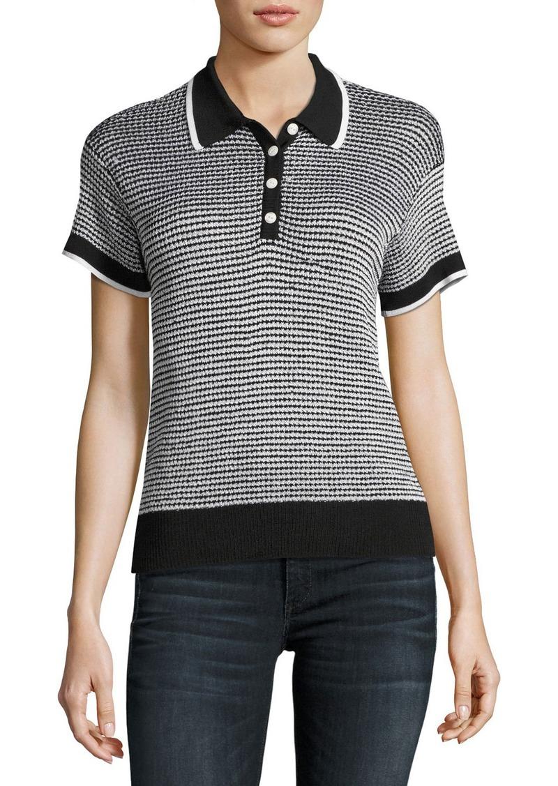 0dfa94b10 Rag   Bone Rag   Bone Finn Button-Up Polo Sweater