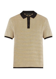 Rag & Bone Finn knitted polo top