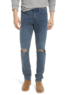rag & bone Fit 1 Ripped Skinny Fit Jeans (Filmore)