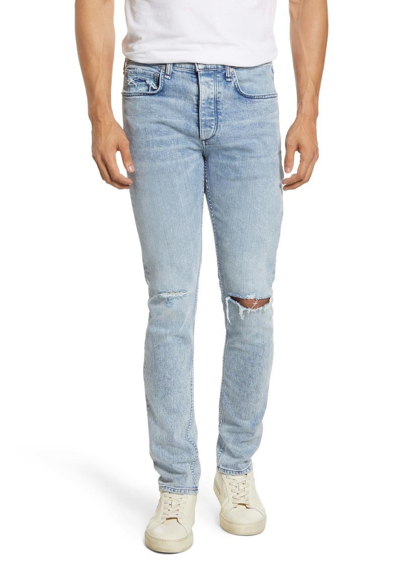 rag & bone Fit 1 Skinny Fit Ripped Jeans (Berg W Hol)