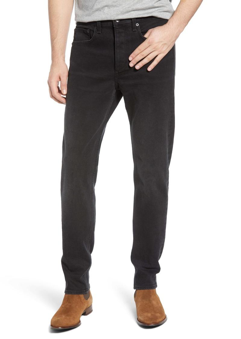 rag & bone Fit 2 Black Slim Fit Jeans (Lyon)