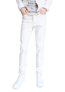 rag & bone Fit 2 Cotton-Blend Slim Fit Jeans in Ecru