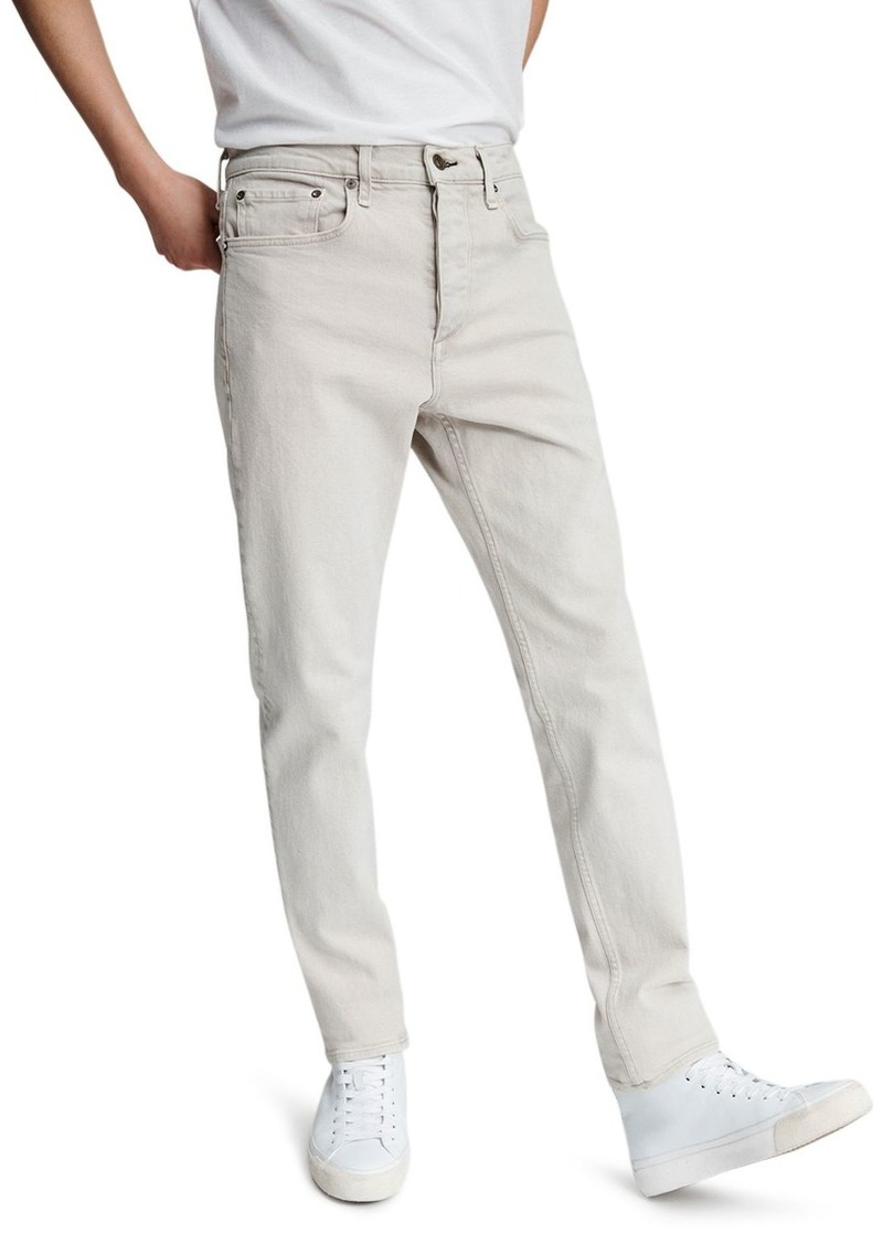 rag & bone Fit 2 Slim Fit Jeans in Stone