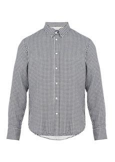 Rag & Bone Fit 2 Tomlin gingham cotton-flannel shirt
