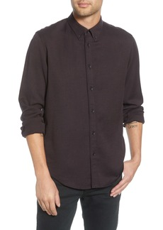 rag & bone Fit 2 Tomlin Slim Fit Jaspé Button-Down Shirt