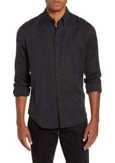 rag & bone Fit 2 Tomlin Slim Fit Jaspé Button-Down Shirt