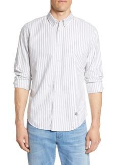 rag & bone Fit 2 Tomlin Slim Fit Stripe Button-Down Oxford Shirt