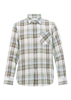 Rag & Bone Fit 3 Beach checked cotton shirt