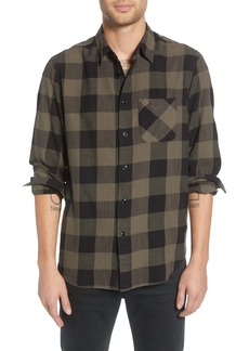 rag & bone Fit 3 Beach Regular Fit Buffalo Check Flannel Shirt