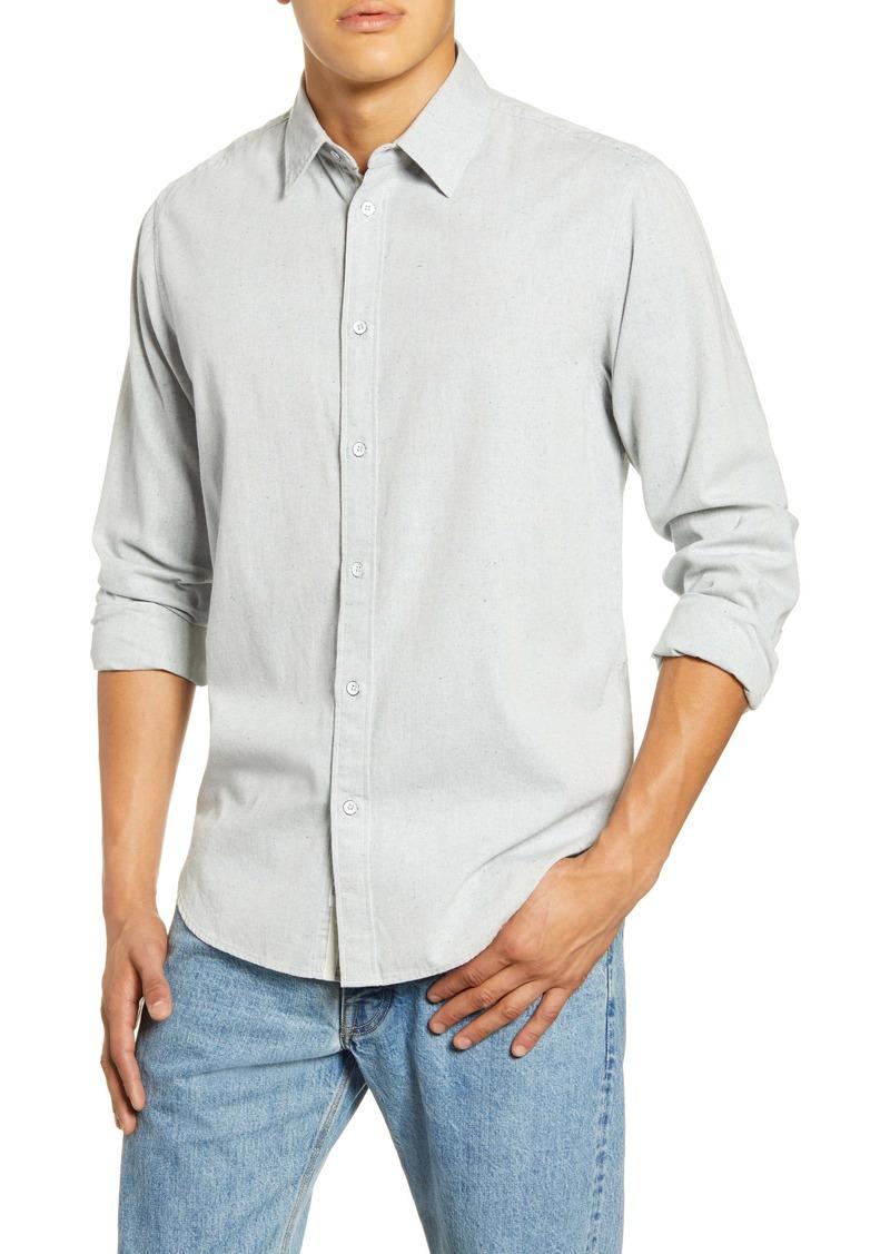 rag & bone Fit 3 Button-Up Flannel Shirt
