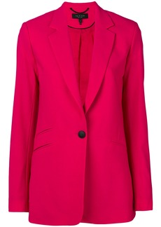 Rag & Bone fitted button blazer - Pink & Purple