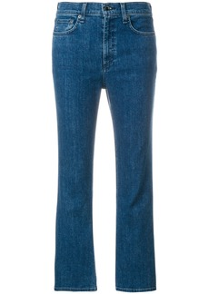 Rag & Bone flared cropped jeans - Blue