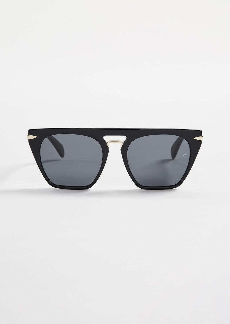 Rag & Bone Flat Top Sunglasses