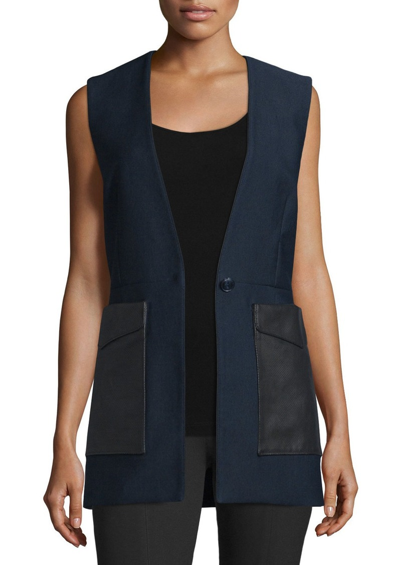 Rag & Bone Fleet Cotton-Blend Vest
