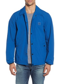rag & bone Flight Regular Fit Nylon Coach's Jacket