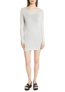 rag & bone Flora Metallic Sweater Dress