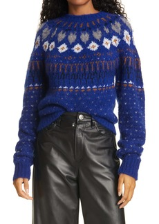 rag & bone Fran Fair Isle Crewneck Sweater