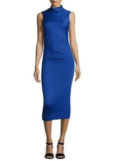 Rag & Bone Francis Sleeveless Wool Midi Dress