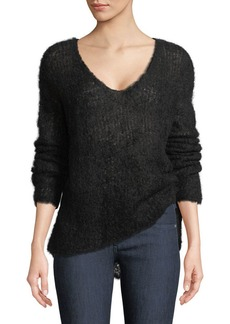 Rag & Bone Freda Alpaca-Blend V-Neck Sweater