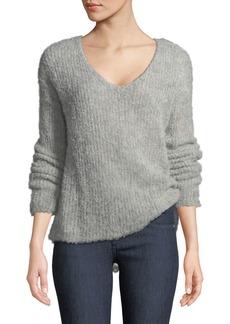 Rag & Bone Freda Alpaca-Blend V-Neck Sweater