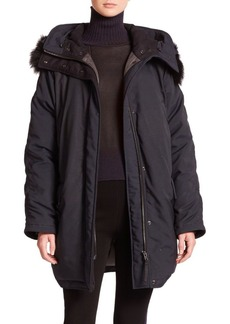Rag & Bone Coyote Fur-Trimmed Winter Parka