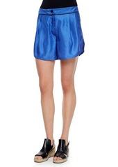 Rag & Bone Gabrielle Silk Dot Shorts