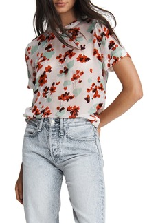 rag & bone Gigi Floral Burnout T-Shirt