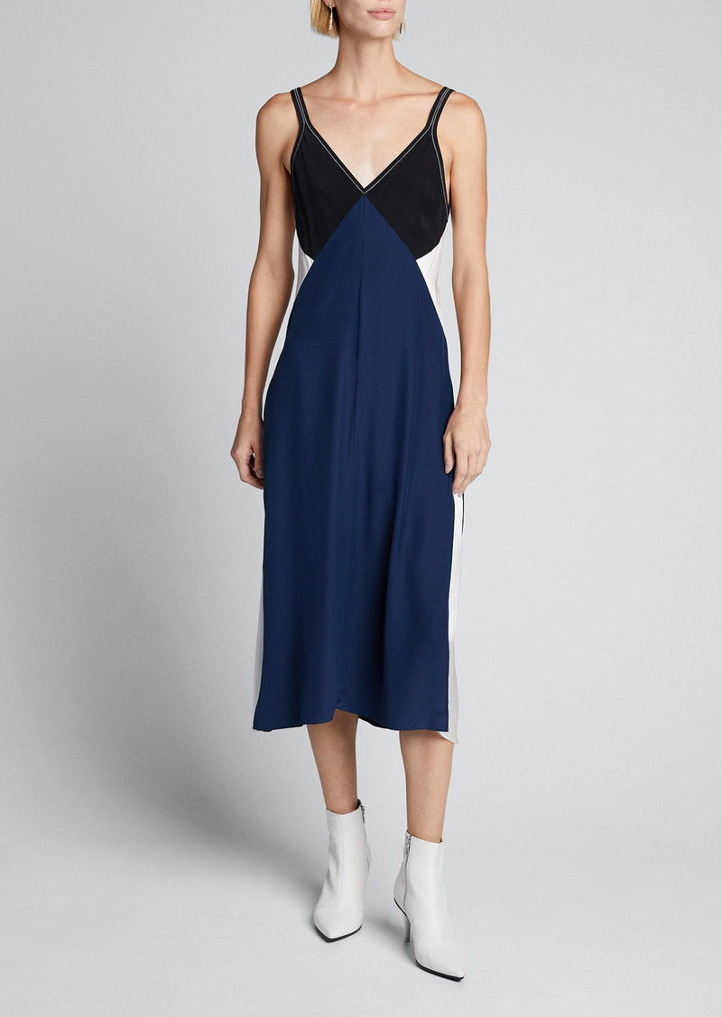 Rag & Bone Gladys Colorblock Slip Dress
