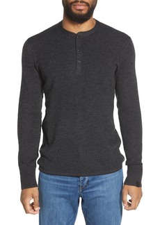 Rag & Bone Gregory Slim Fit Merino Henley Sweater