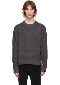 rag & bone Grey Wool & Cashmere Finch Sweater