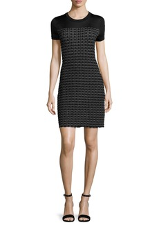 Rag & Bone Gwen Short-Sleeve Sweater Dress