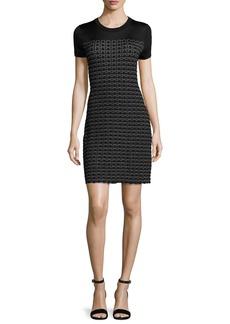 Rag & Bone Gwen Short-Sleeve Sweater Dress