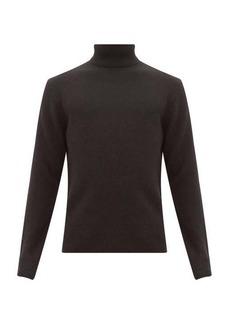 Rag & Bone Haldon ribbed-trim cashmere roll-neck sweater