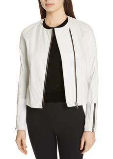 rag & bone Harrison Stretch Panel Leather Jacket