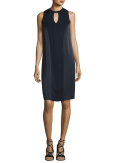 Rag & Bone Hart Two-Tone Sleeveless Shift Dress