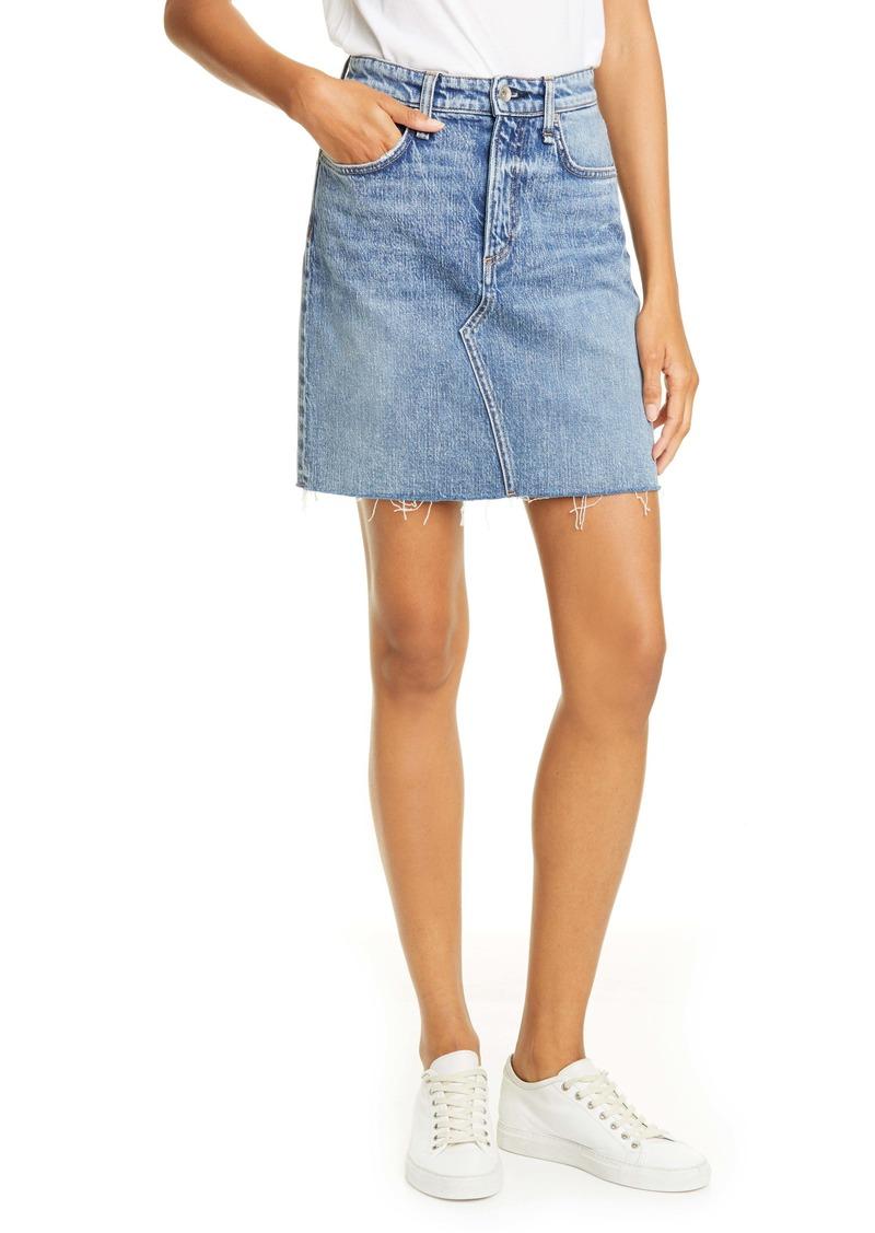 rag & bone Hayden Denim Skirt